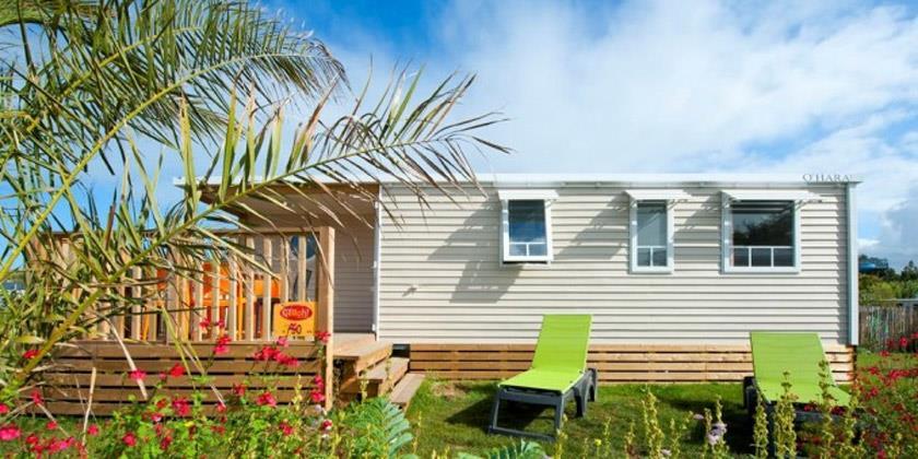 Location - Cottage Caraïbes **** 3 Chambres Alizés - Yelloh! Village Les Mouettes