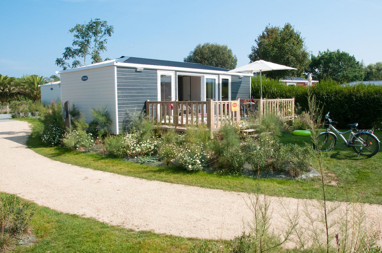 Location - Cottage Caraïbes Premium 2 Chambres 2 Salles De Bains - Yelloh! Village Les Mouettes