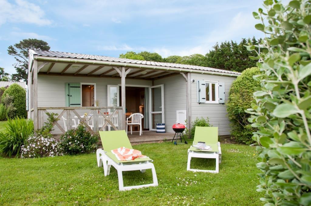 Location - Chalet Canopia Premium 3 Chambres - 2 Salles De Bain - Yelloh! Village Les Mouettes