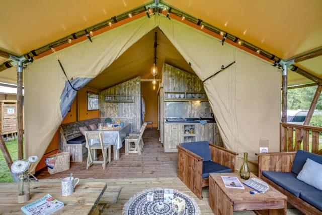Location - Tente Natura Lodge**** 2 Chambres - Yelloh! Village Les Mouettes
