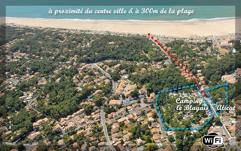 Camping le Blayais Alicat, Saint-Georges-de-Didonne, Charente-Maritime