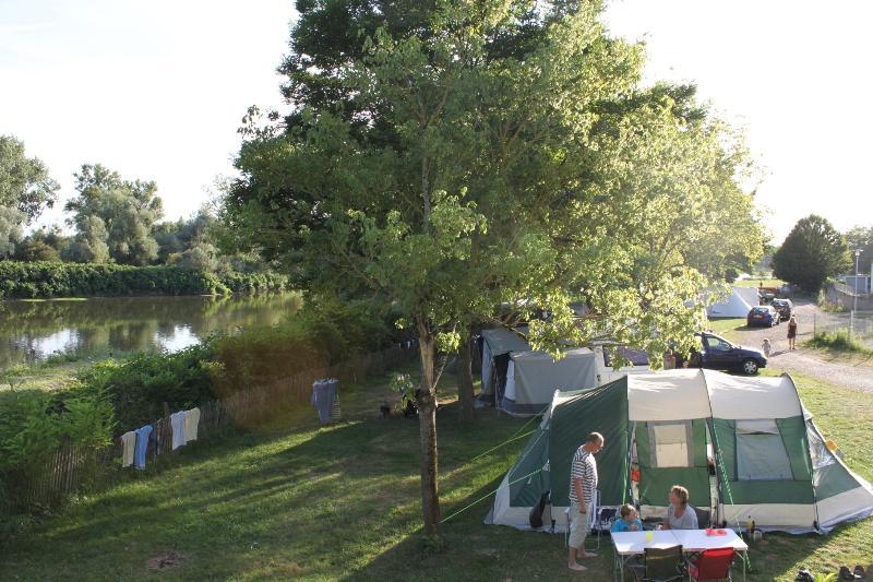 Camping la Chevrette, Digoin, Saône-et-Loire