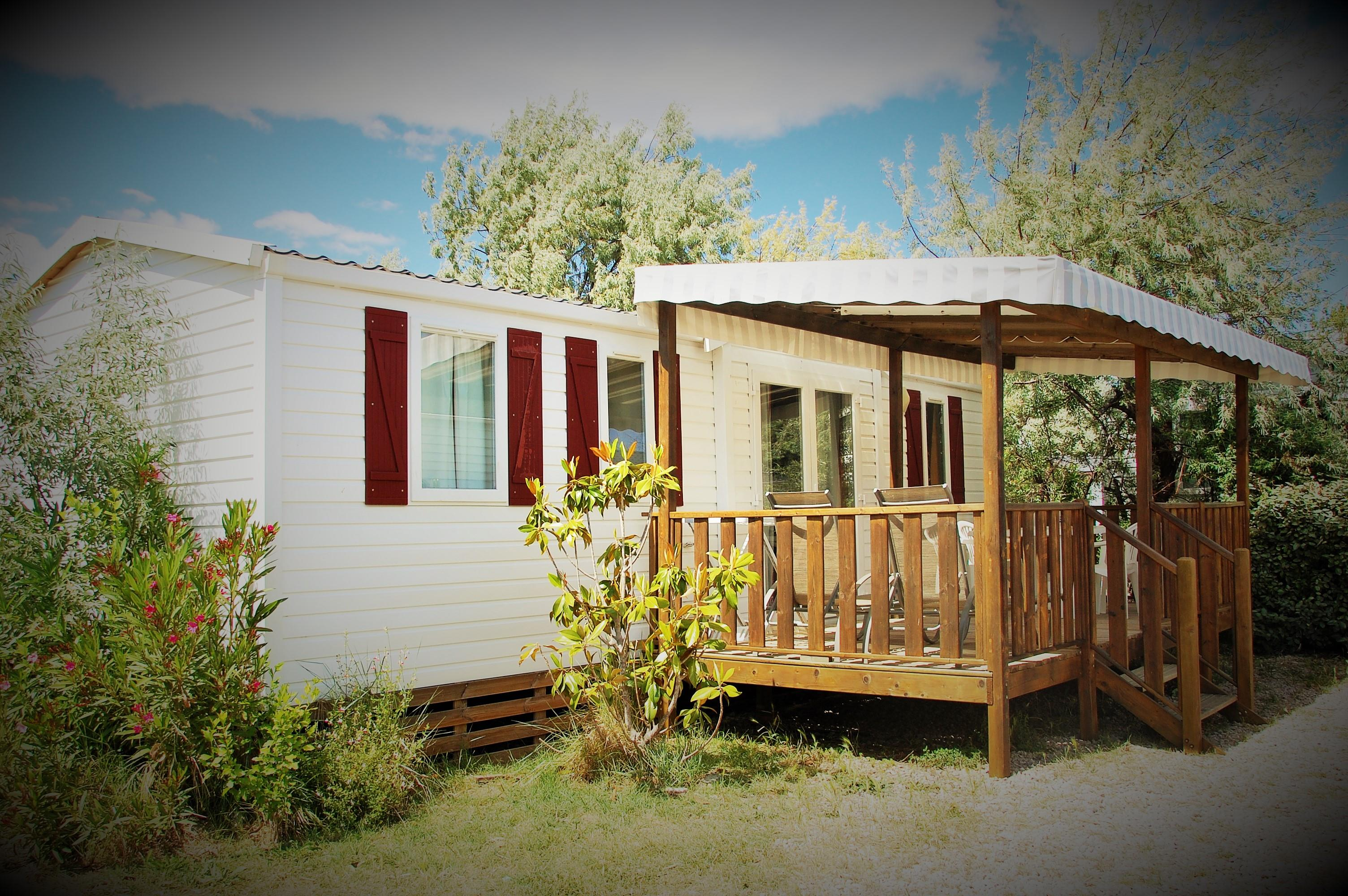 Mobil-Home CONFORT + 30 m² (3 chambres) + terrasse - TROPIC
