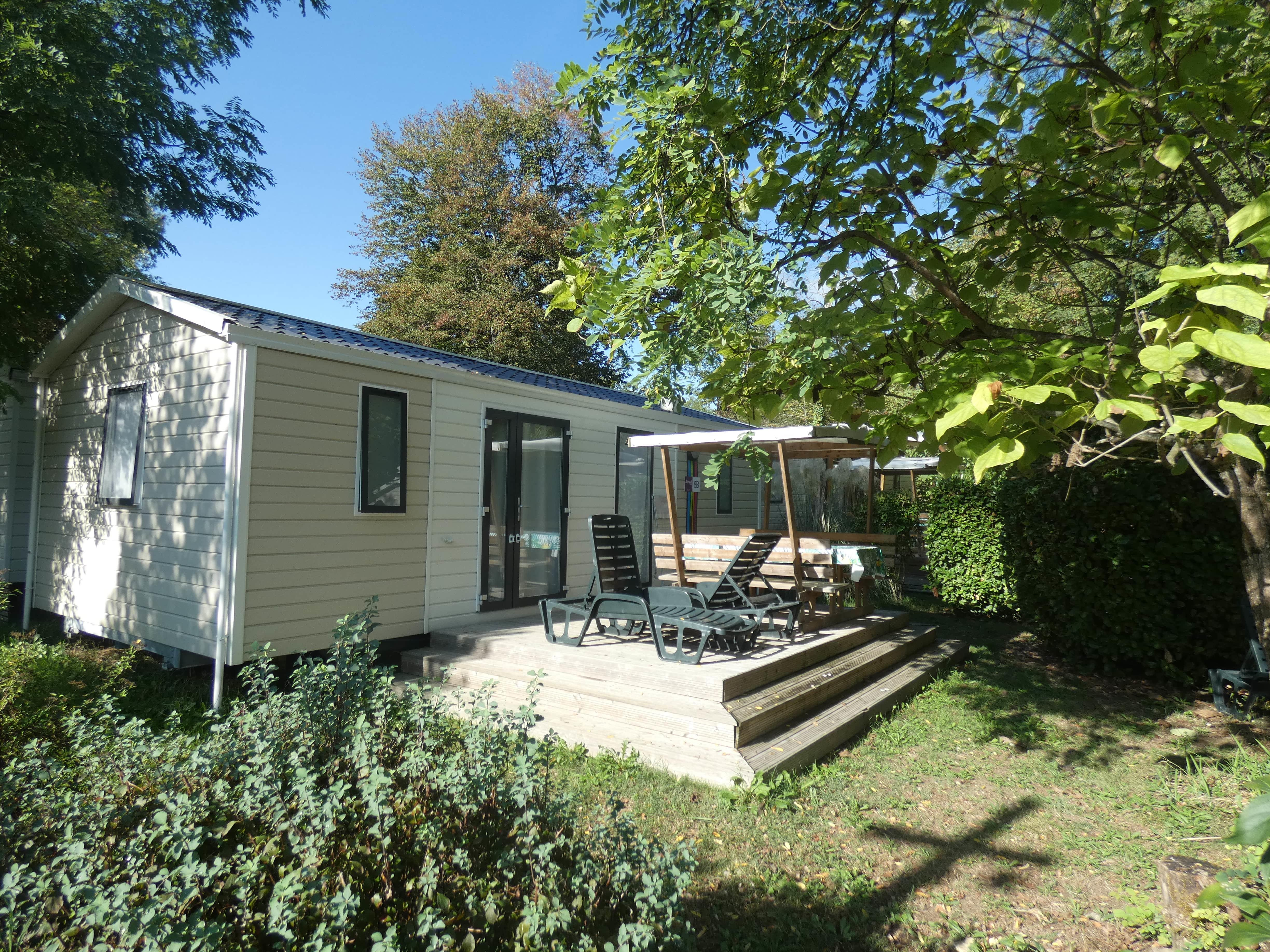 Accommodation - Mobile-Home Santa Fe (31 M²) - AIROTEL Camping Les Trois Lacs