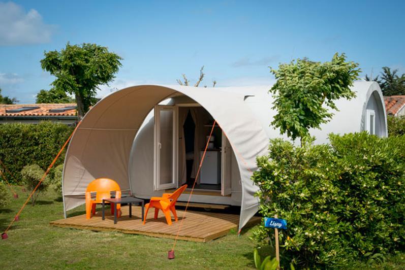 Location - Coco Sweet 17 M² (2 Chambres) + Terrasse (Sans Sanitaires) Côté Camping - Camping Les Étangs Mina