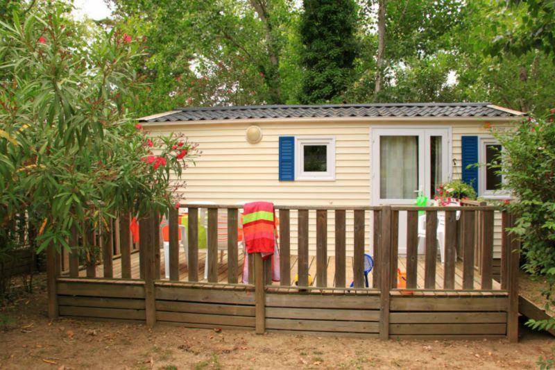 Location - Bungalow Evasion - 2 Chambres - Camping Le Palais de la Mer