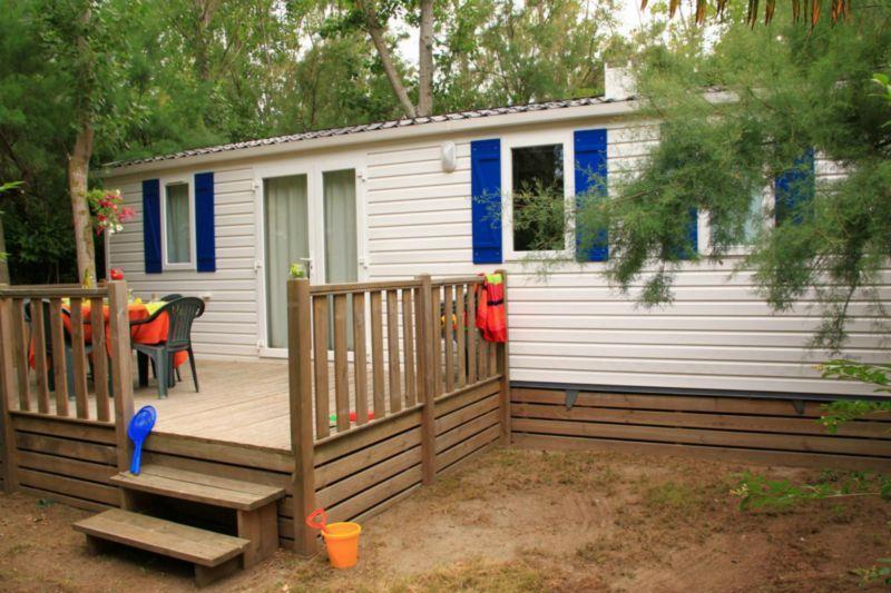 Location - Bungalow Atlantique - 2 Chambres - Camping Le Palais de la Mer