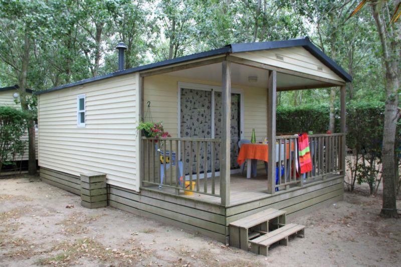 Location - Bungalow Marina - 2 Chambres - Camping Le Palais de la Mer