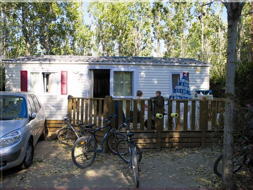 Location - Bungalow Pacifique - 3 Chambres - Tv - Climatisation - Camping Le Palais de la Mer