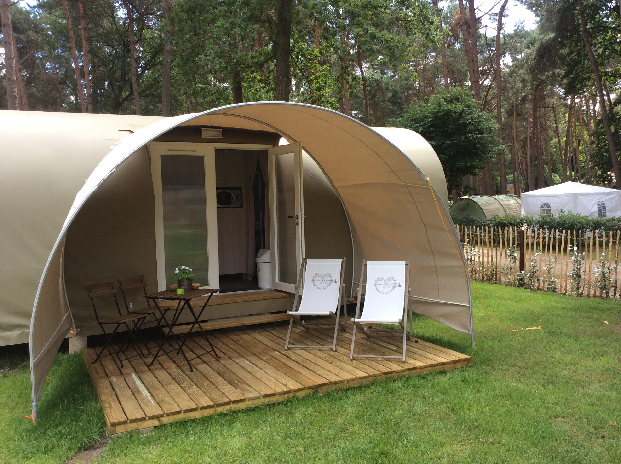 Location - Coco Sweet Luxe Tent - Camping Goolderheide