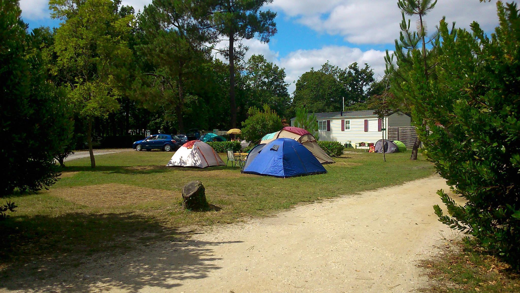 Camping l'Orée du Bois, Hourtin, Gironde