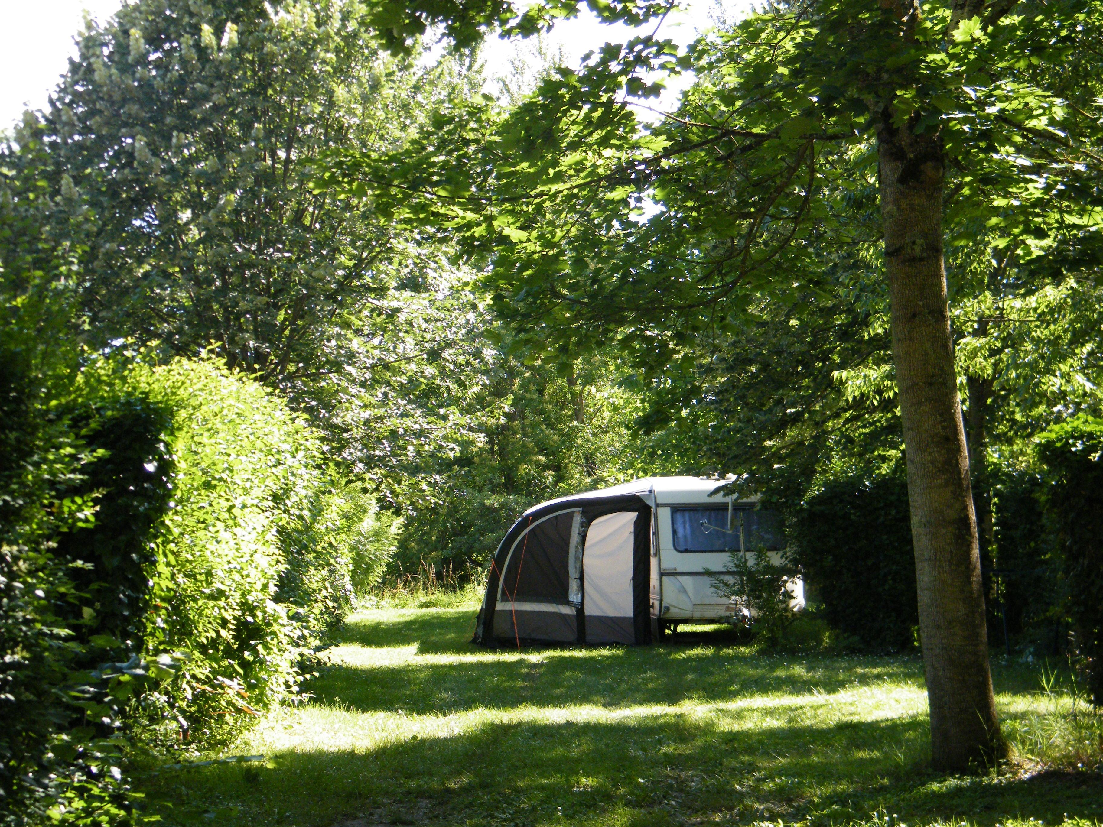 Emplacement - Emplacement Camping - Camping Municipal de l'Île de Bidounet