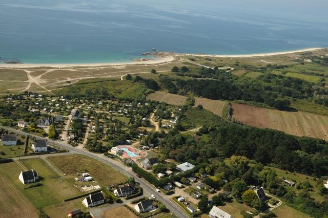 Camping la Grande Plage, Plobannalec, Finistère