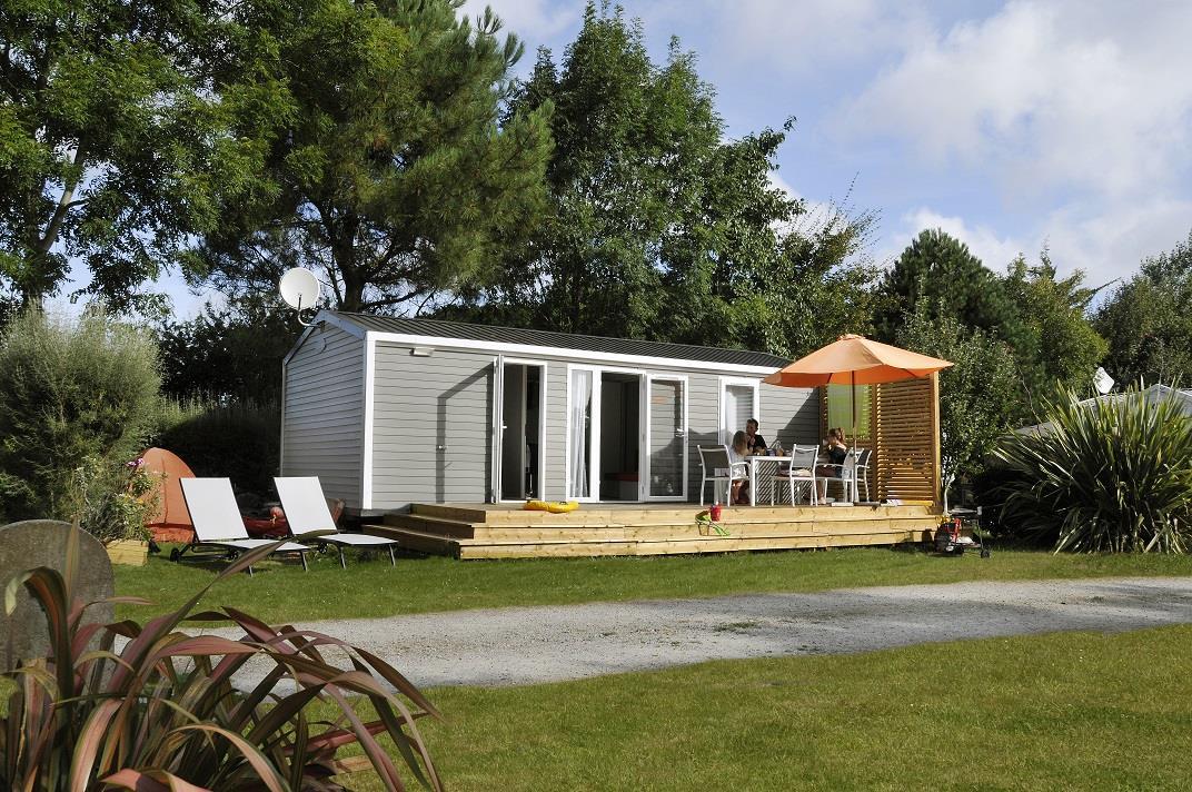 Location - Mobil-Home Premium Aigrette 33M² (2 Chambres - 2 Sdb) - 2016 - Camping La Grande Plage