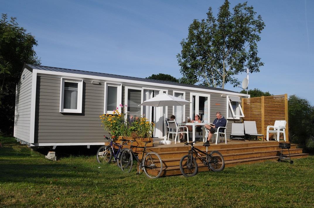Location - Mobil-Home Premium 38 M² ( 3 Chambres - 2 Sdb) - 2016 - Camping La Grande Plage