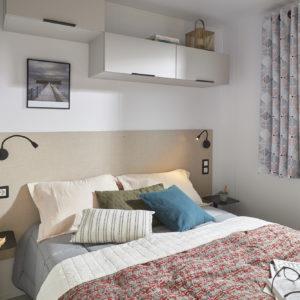 Location - Mobilhome Confort + 18M² (1 Chambre) - 2020 - Camping La Grande Plage