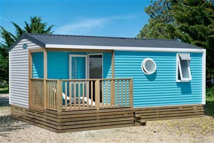 Location - Cottage T-734 29M² 2 Chambres + Terrasse Semi-Couverte - Camping La Touesse