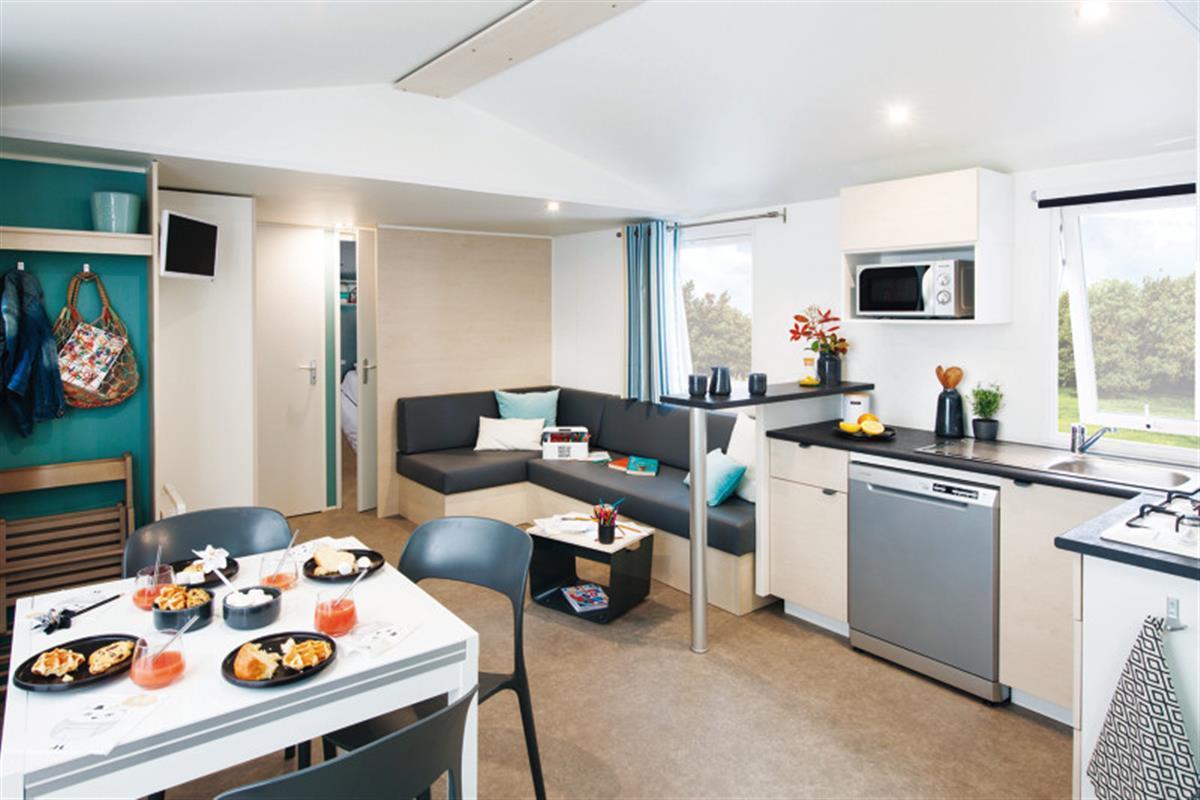Location - Cottage Smala 4 Chambres + Terrasse Couverte 38M² - Camping La Touesse