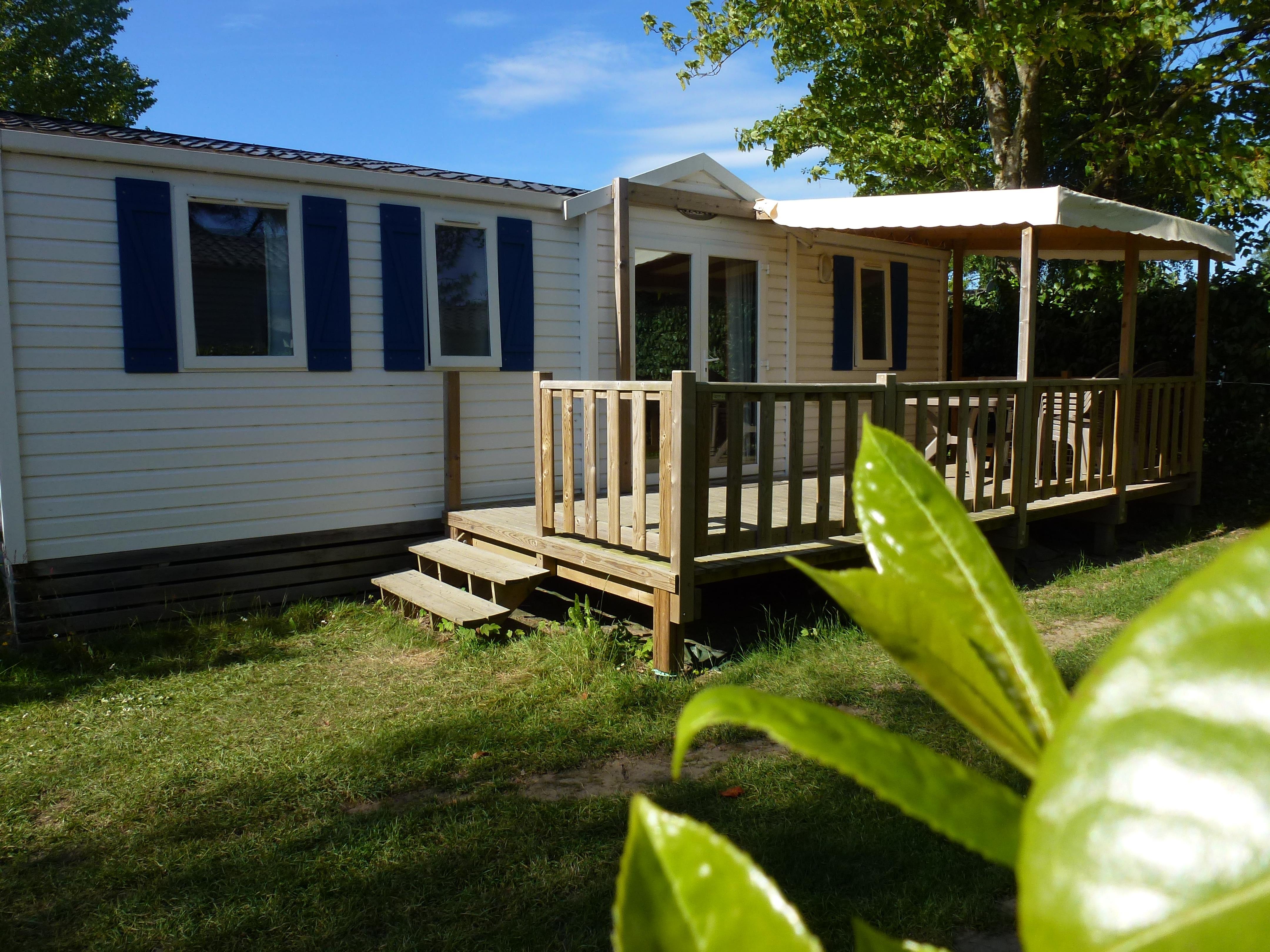 Location - Cottage 36M² 3 Chambres + Terrasse Couverte - Camping La Touesse