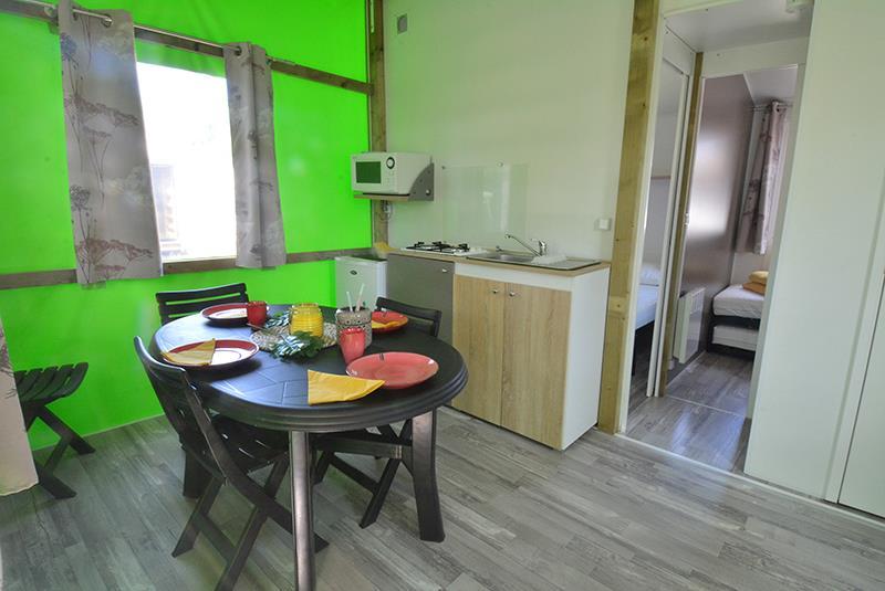 Location - Tithome 2 Chambres 21M² - Camping La Touesse