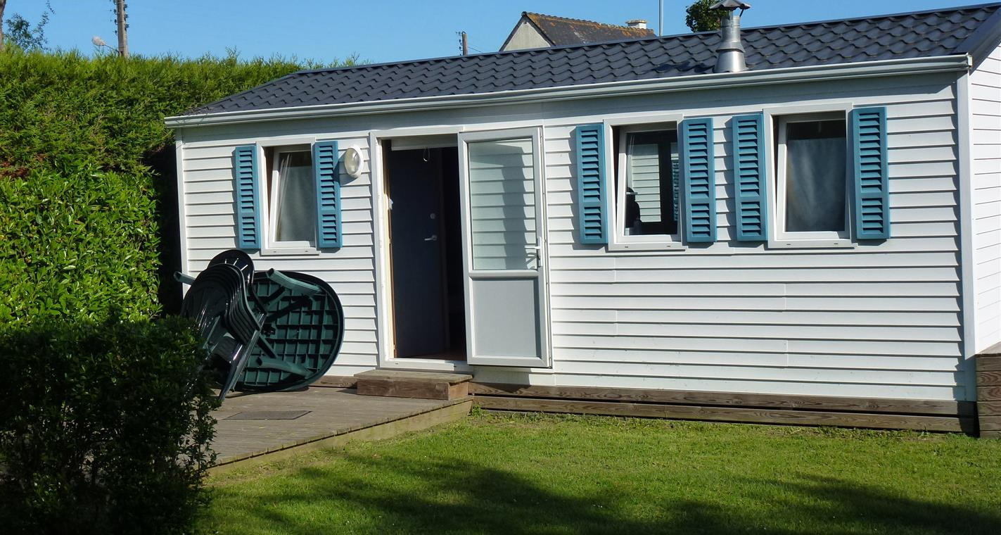 Location - Cottage Ophea 2 Chambres + Terrasse 28.80 M² - Camping La Touesse