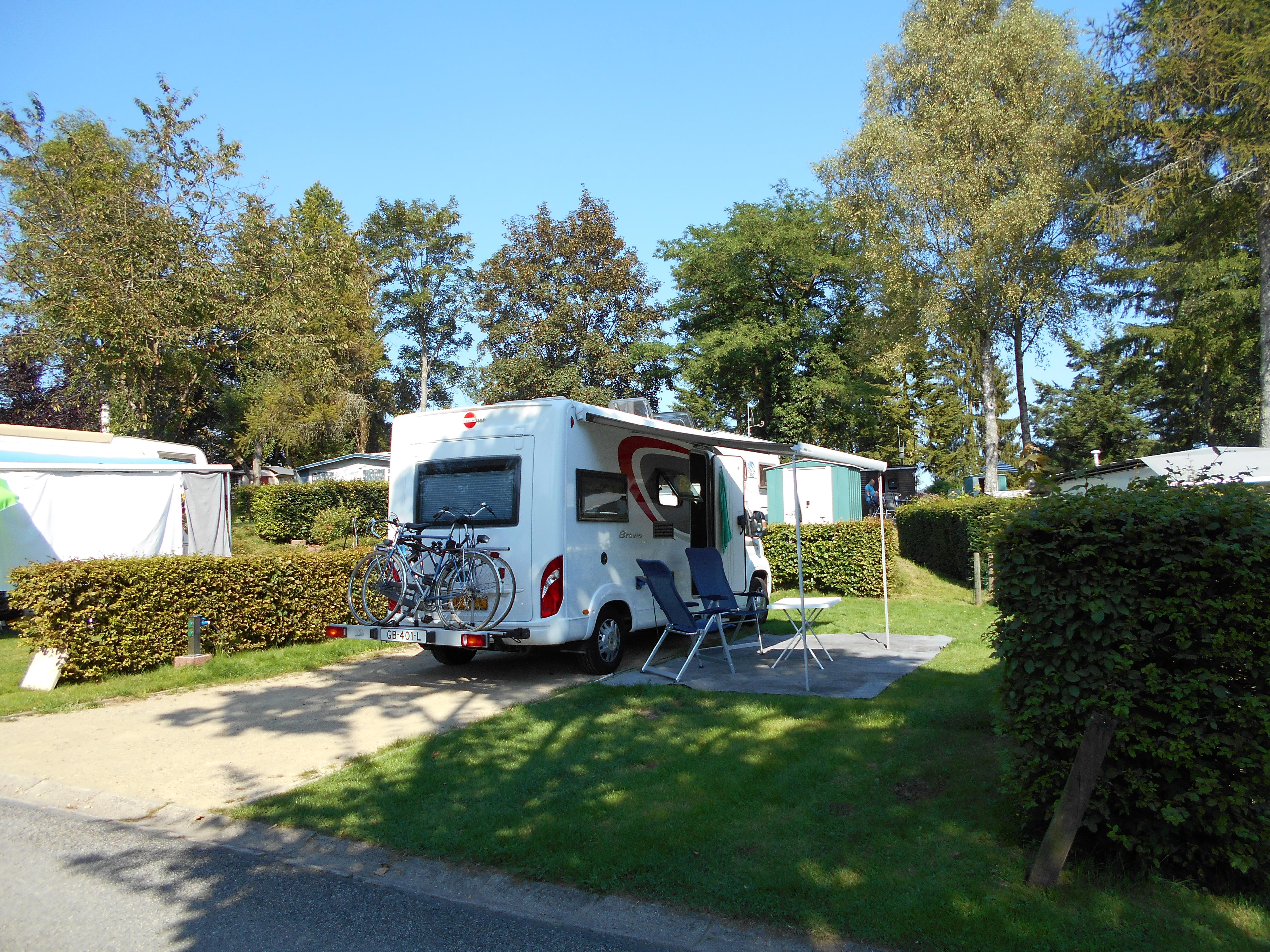Emplacements pour CampingCars
