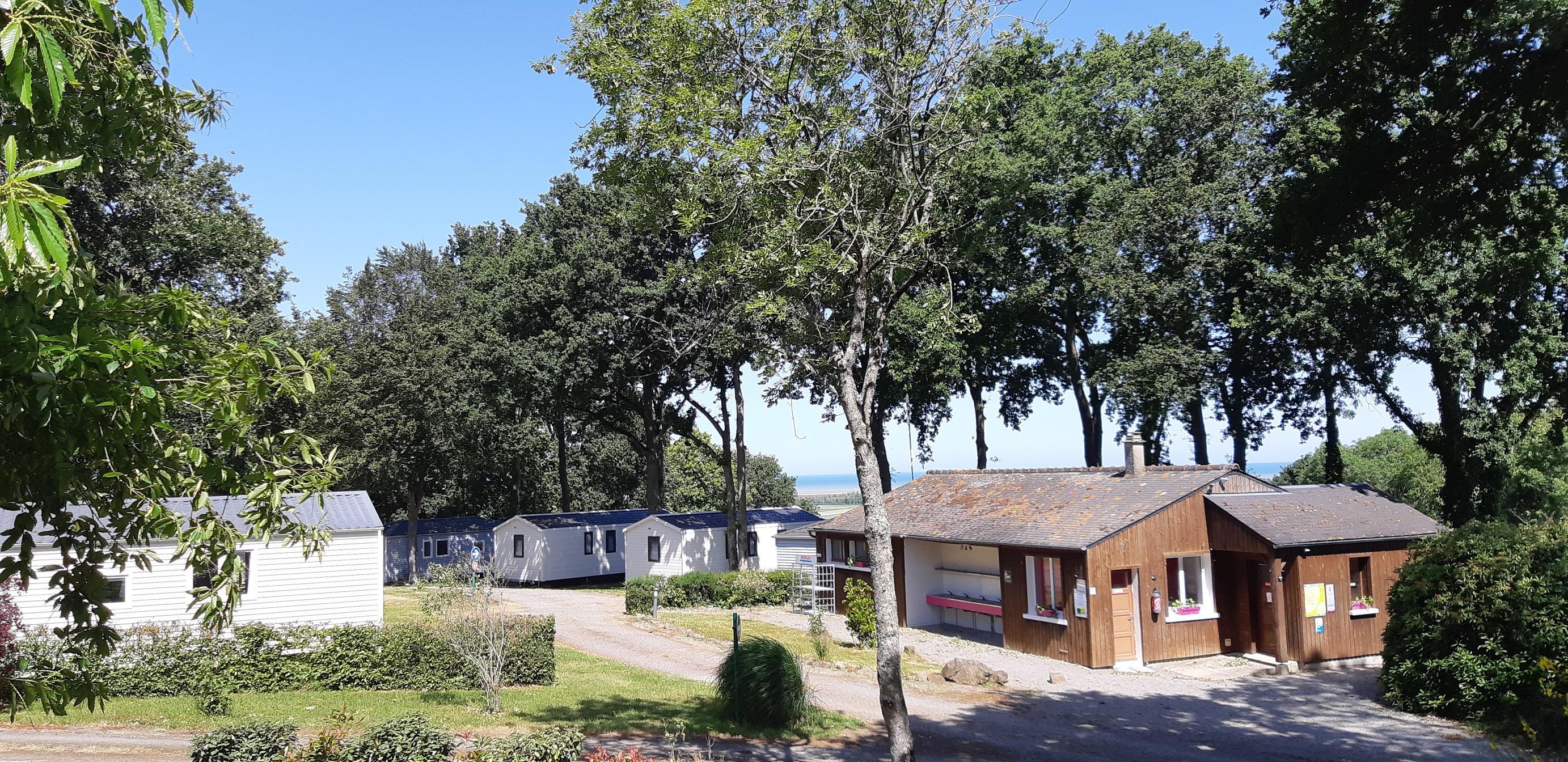 Camping le Balcon de La Baie, Saint-Marcan, Ille-et-Vilaine