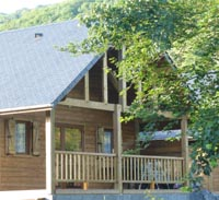 Location - Chalet  Cottage Grand Confort 42M² - Camping du Lac