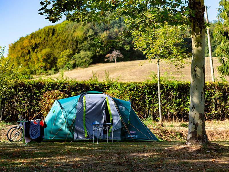 Emplacement - Emplacement Pour Tentes (Avec Vélo) - Camping Ettelbrück