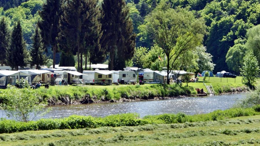Campingplatz Fuldaschleife - Büchenwerra