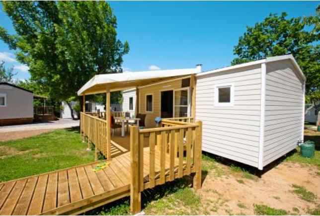 Location - Mobil Home Pmr Samedi - Camping Bel Air
