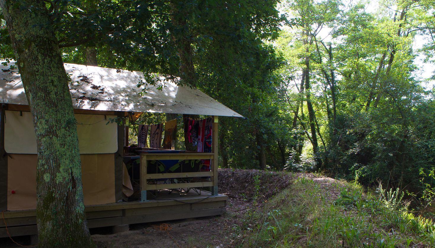 Camping la Clairière  (Lou Talucat), Saint-Paul-en-Born, Landes