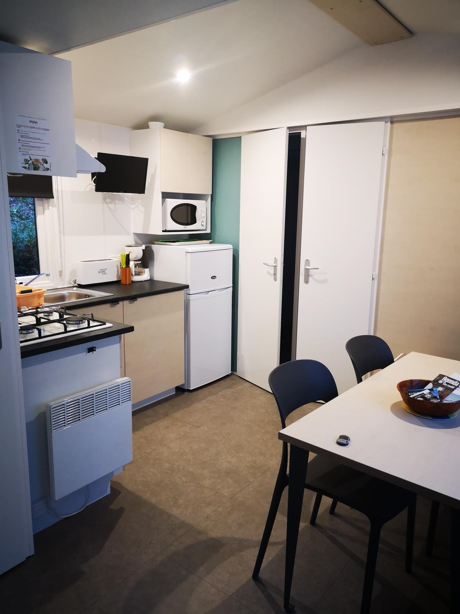 Mobil-home Loggia 30m²- 2 chambres