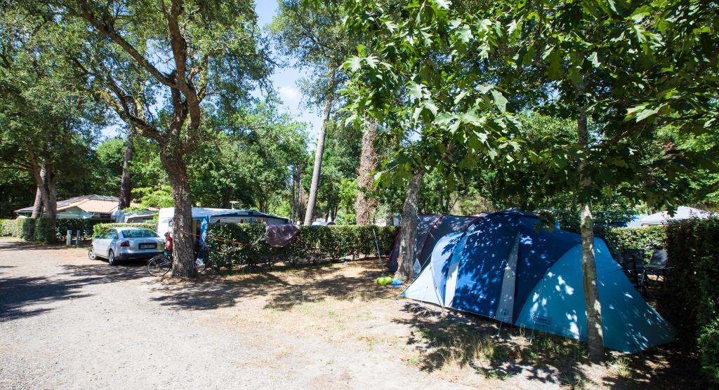 Emplacement - Forfait Emplacement + Un Véhicule - Camping Landes Azur