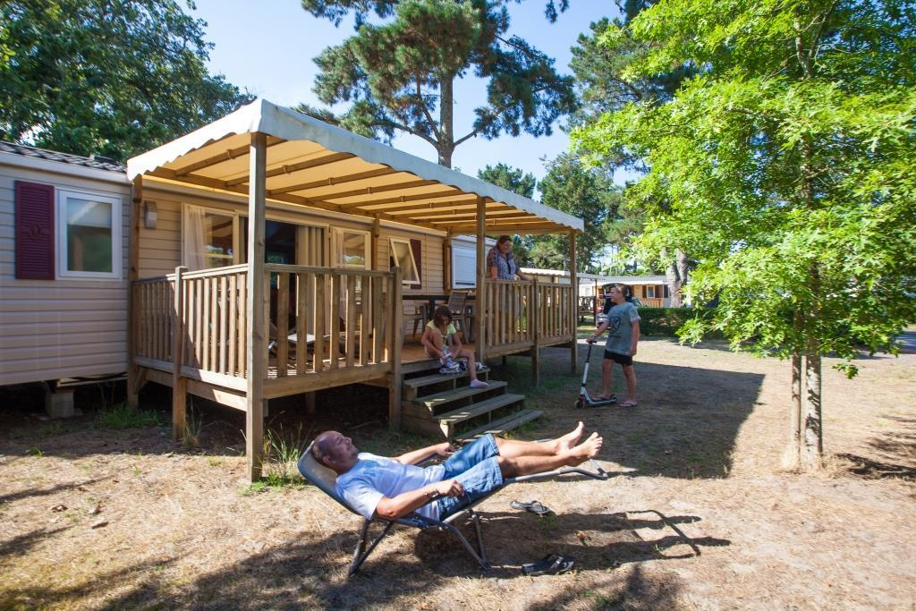 Location - Mobil Home - 3 Chambres - Camping Landes Azur