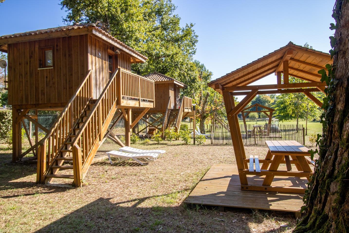 Camping Landes Azur, Azur, Landes