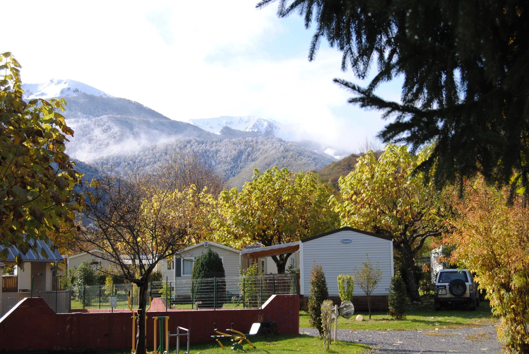 Camping la Bourie, Hèches, Hautes-Pyrénées