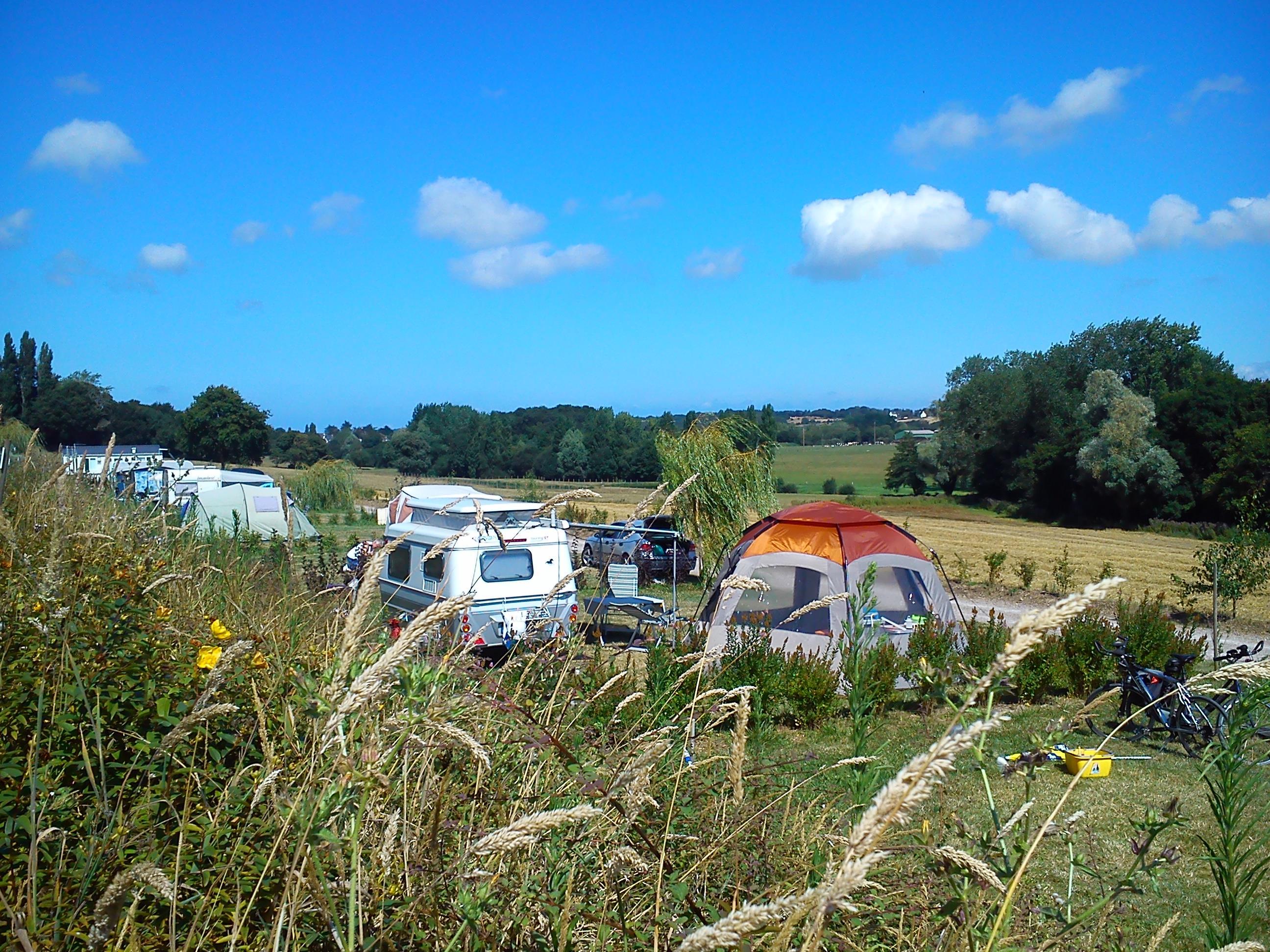 Camping le Frêche à L' âne, Pléboulle, Côtes-d'Armor