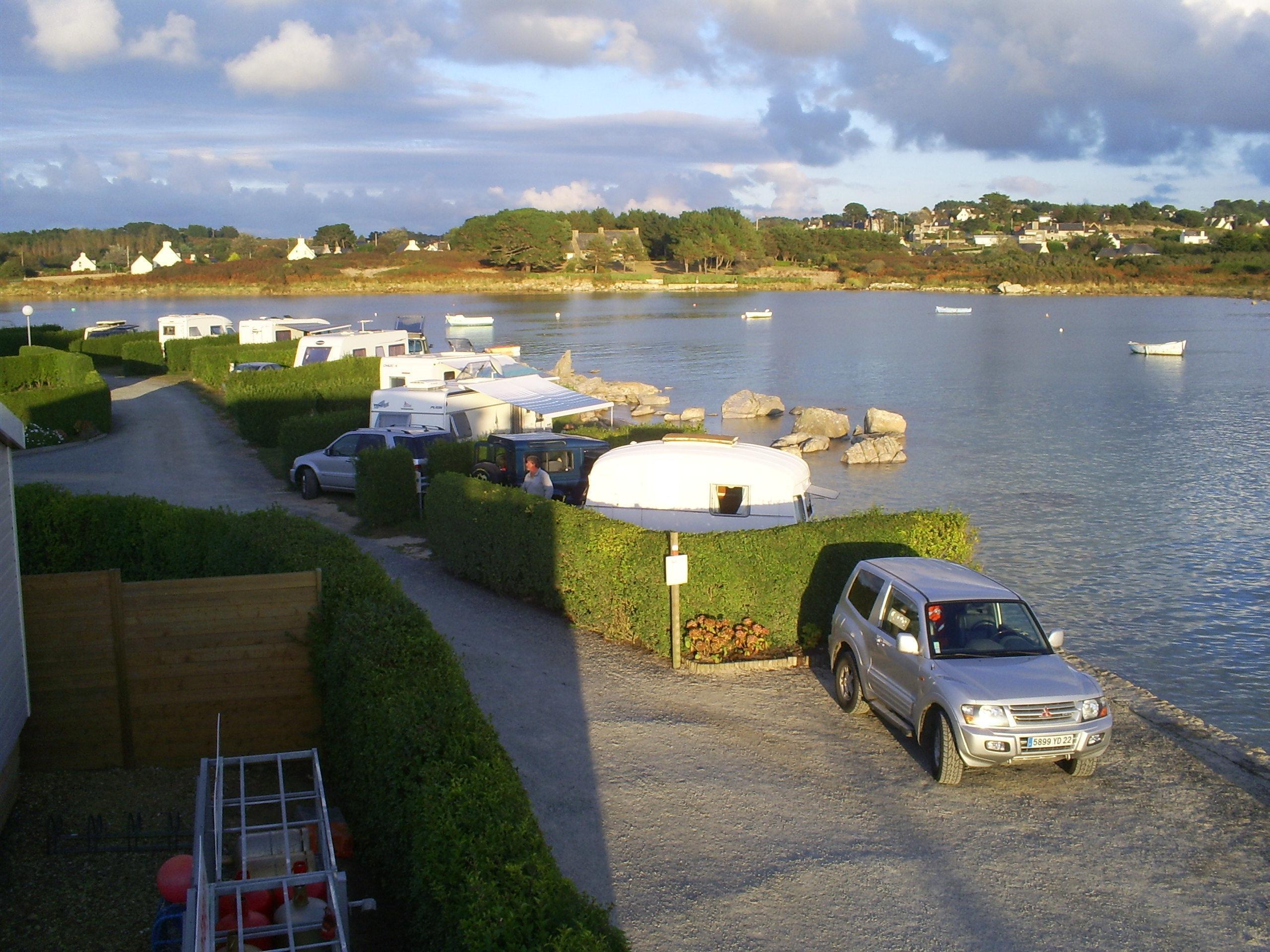 Camping du Port-Landrellec, Pleumeur-Bodou, Côtes-d'Armor