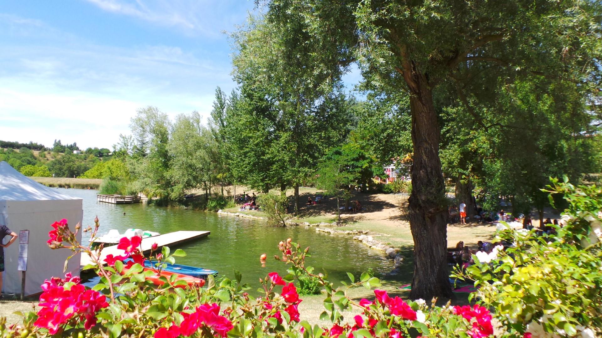 Camping le Lac de la Thesauque, Nailloux, Haute-Garonne