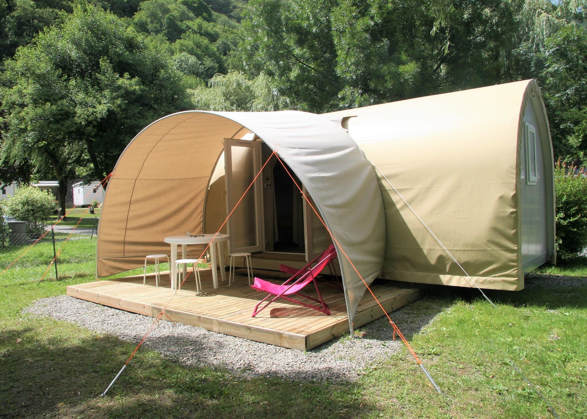 Location - Tente Meublée Coco Sweet - Camping Pradelongue