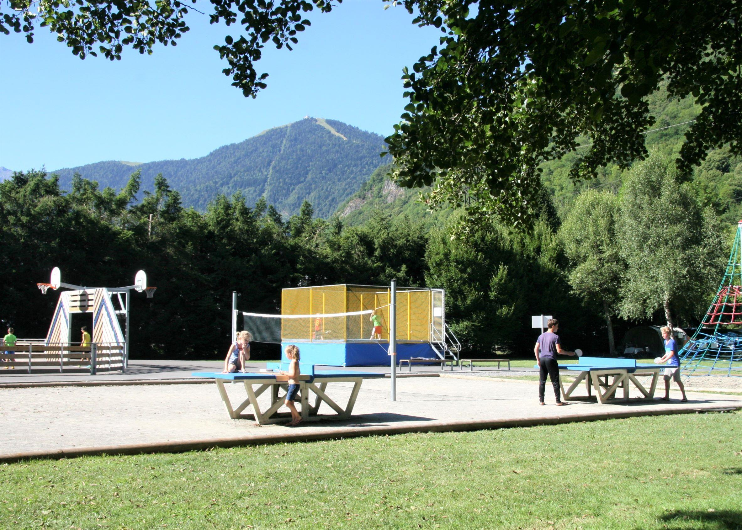 Sport activities Camping Pradelongue - Bagneres De Luchon