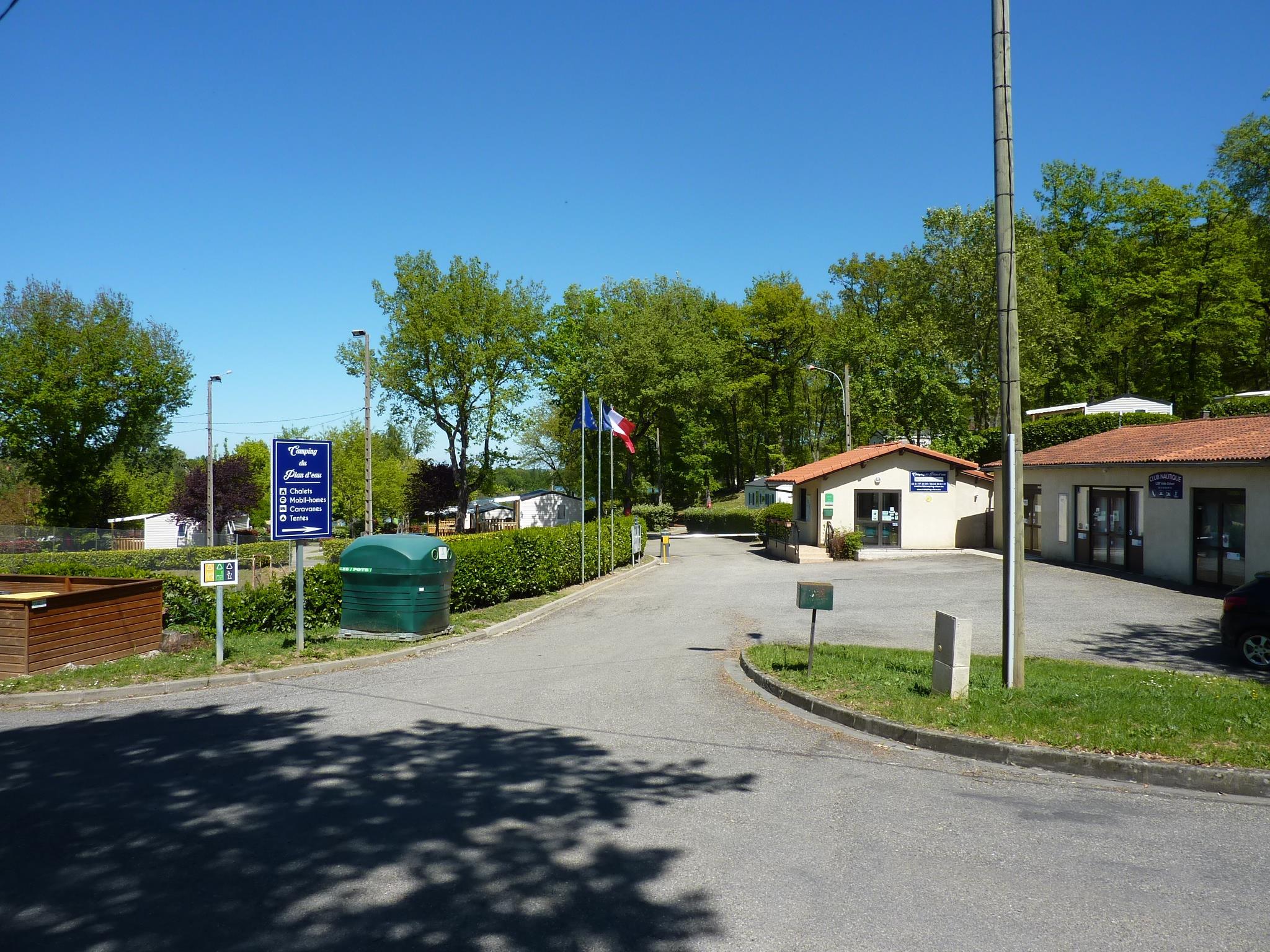 Camping du Plan d'Eau, Rieux, Haute-Garonne