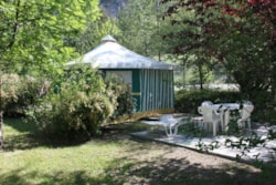 Canvas bungalow