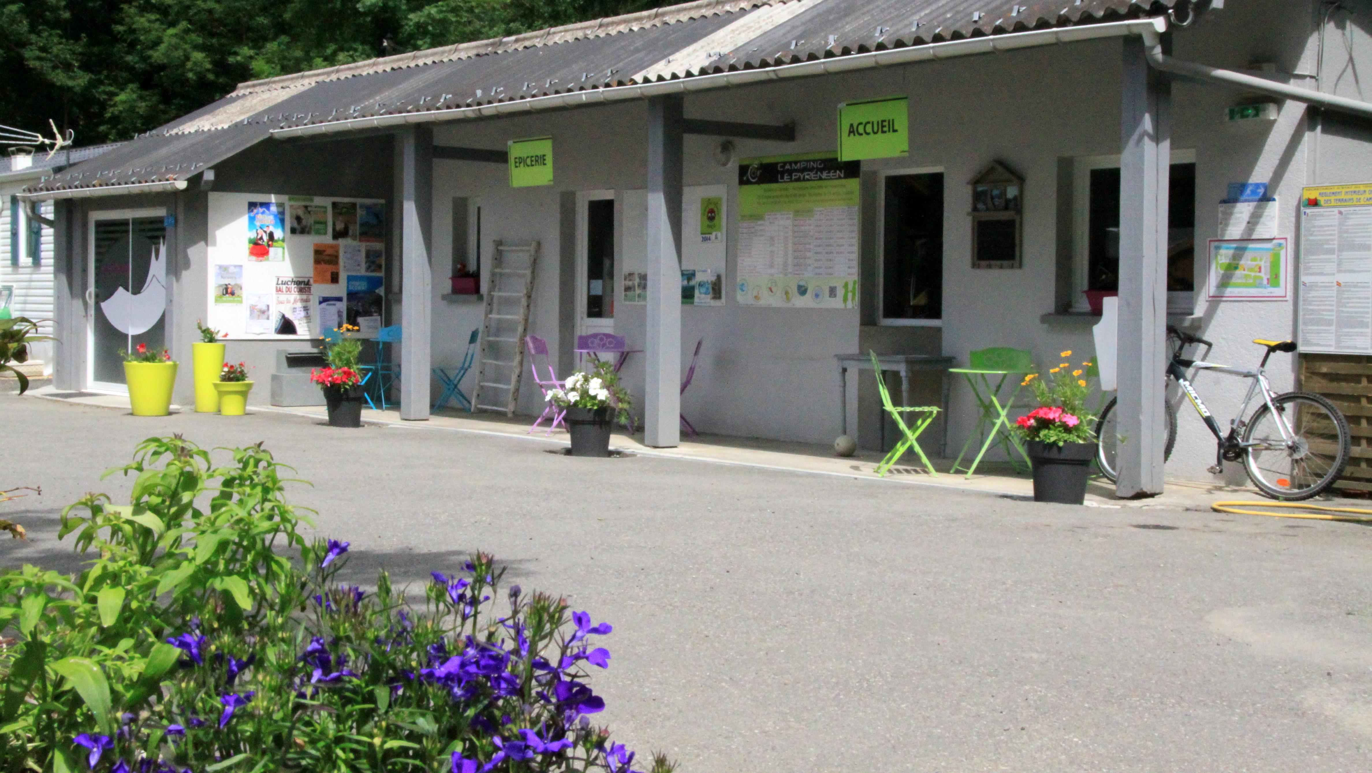 Camping le Pyreneen, Salles-et-Pratviel, Haute-Garonne
