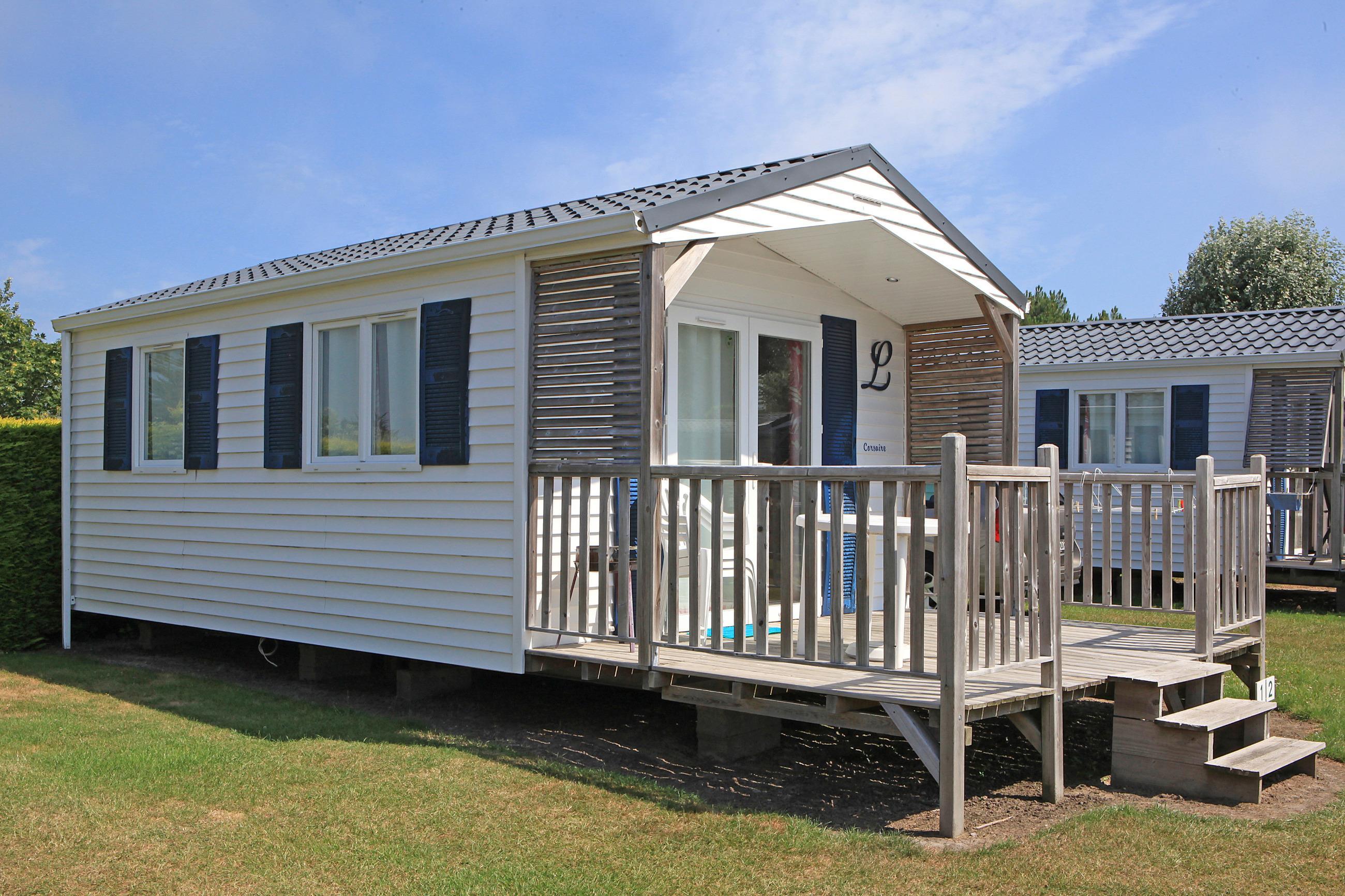 Location - Mobil Home 1 Chambre Avec Terrasse - Camping Des Hautes Grées