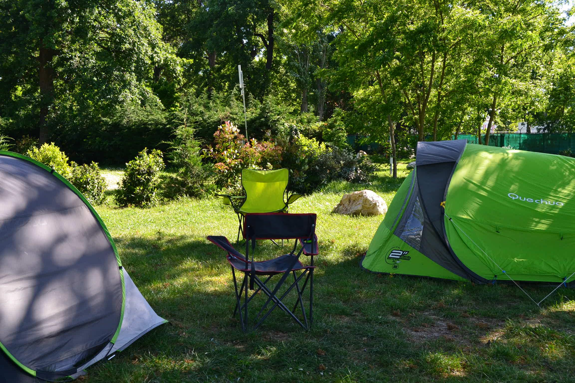 Emplacement - Emplacement Tente - Camping Caravaning de Rupé