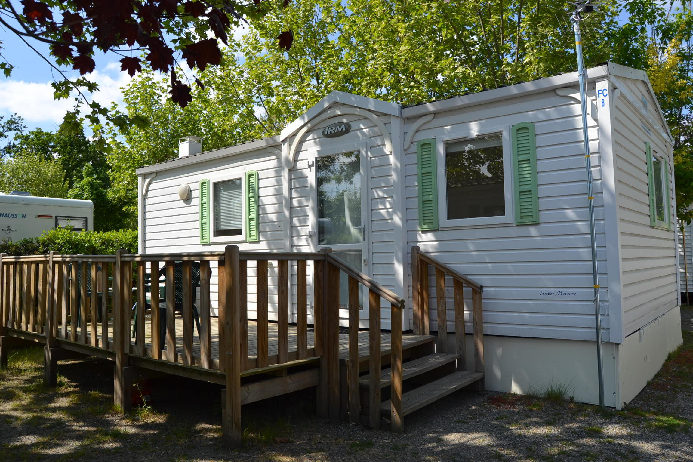 Location - Mobilhome Confort 2 Chambres - Camping Caravaning de Rupé