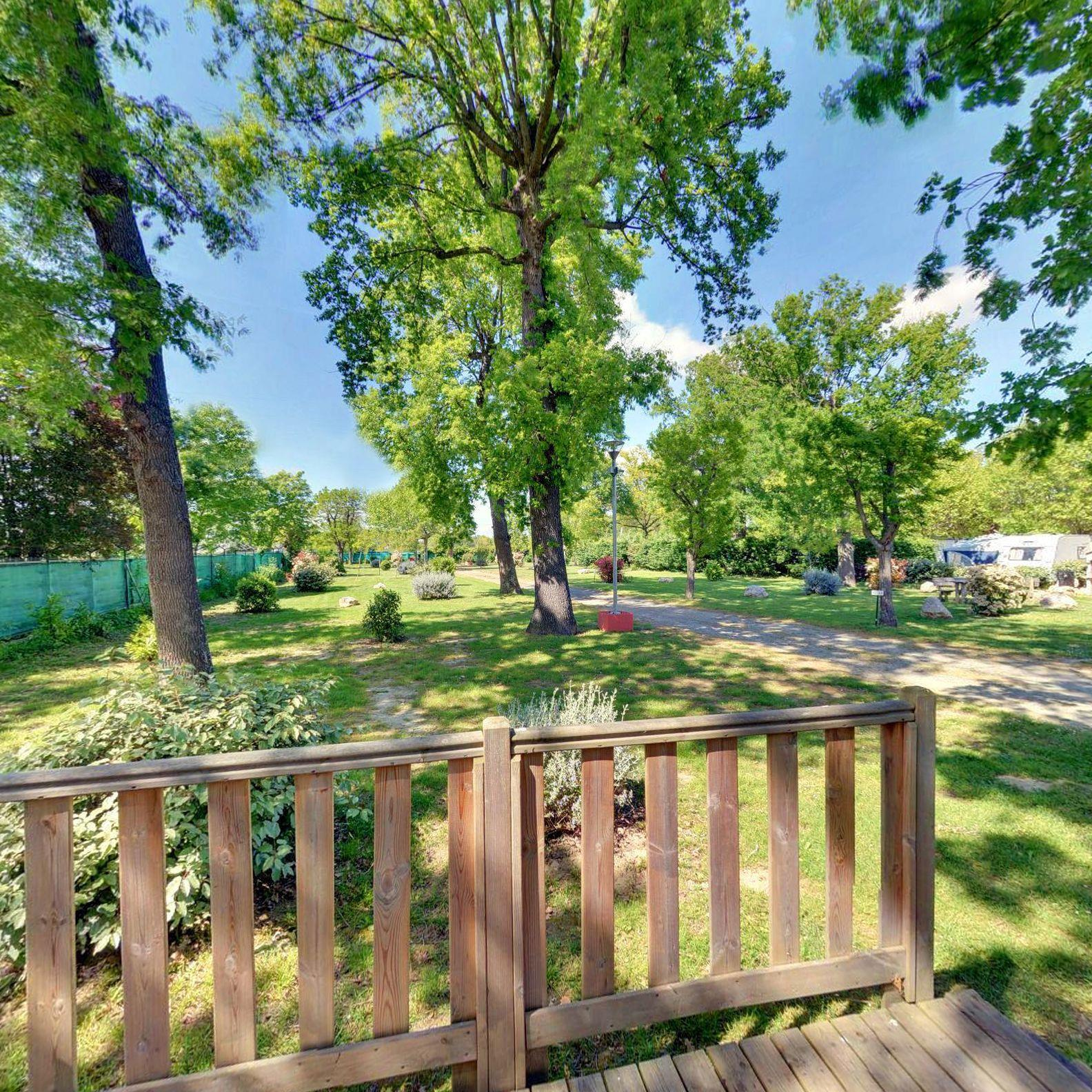 Location - Mobilhome Grand Confort 3 Chambres + Clim/Terrasse - Camping Caravaning de Rupé