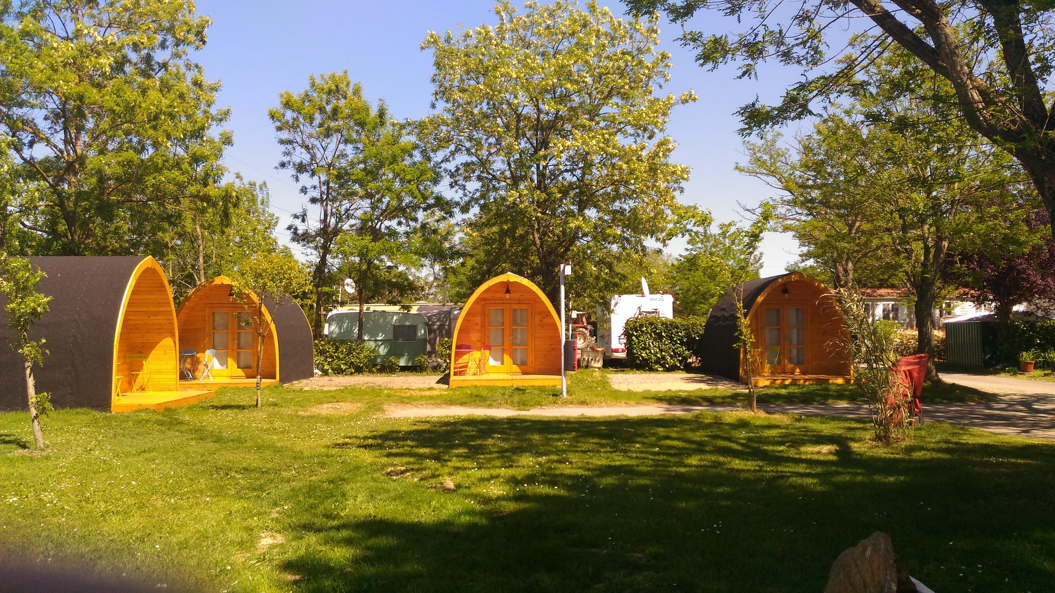 Location - Chalet Étape Sans Sanitaires - Camping Caravaning de Rupé